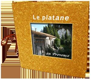 Livre d'or du gite Le platane en Provence