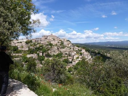 Gordes village perché