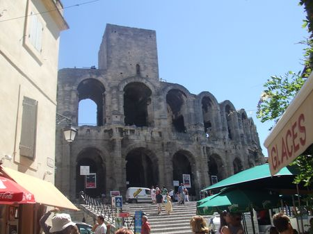 arenes romaines d'Arles