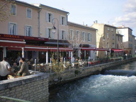 village l'Isle sur Sorgue
