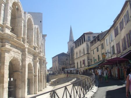 Arles les arènes
