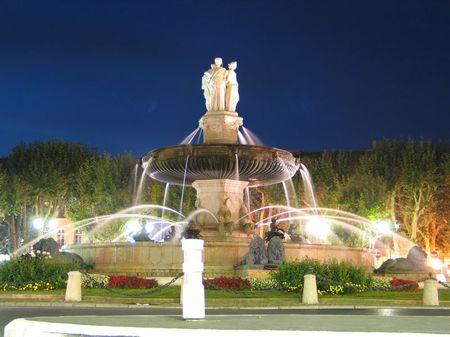 Fontaine d'Aix en P