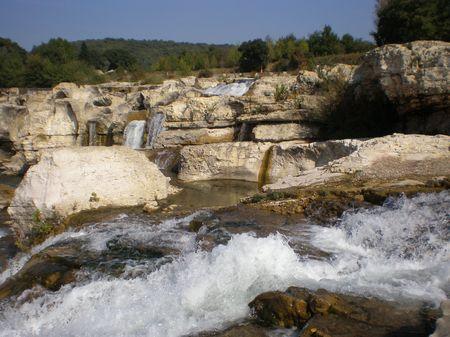 Cascades Sautadet ( Gard)